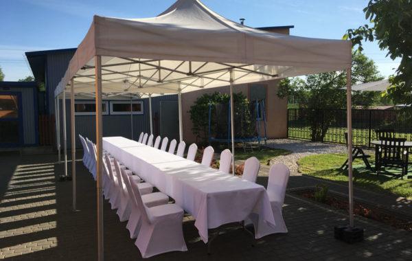 Namioty na komunię i przyjęcia plenerowe