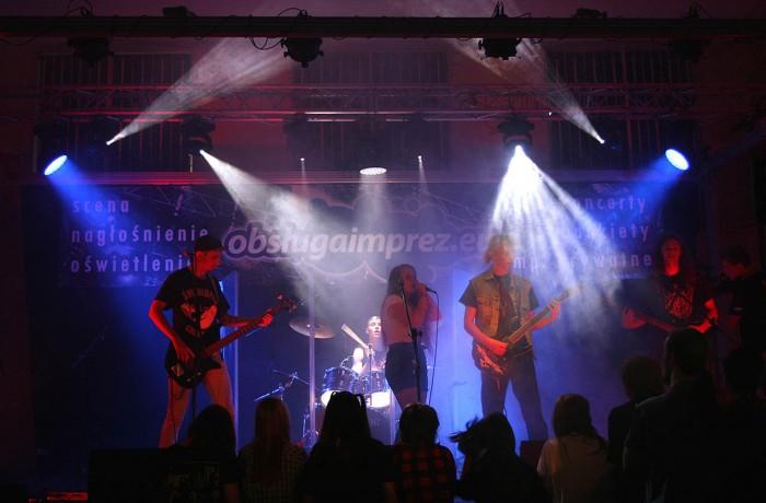 Oświetlenie imprez - koncertowe