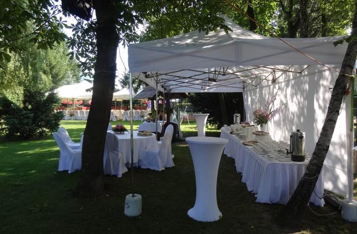 Namioty cateringowe, piknikowe