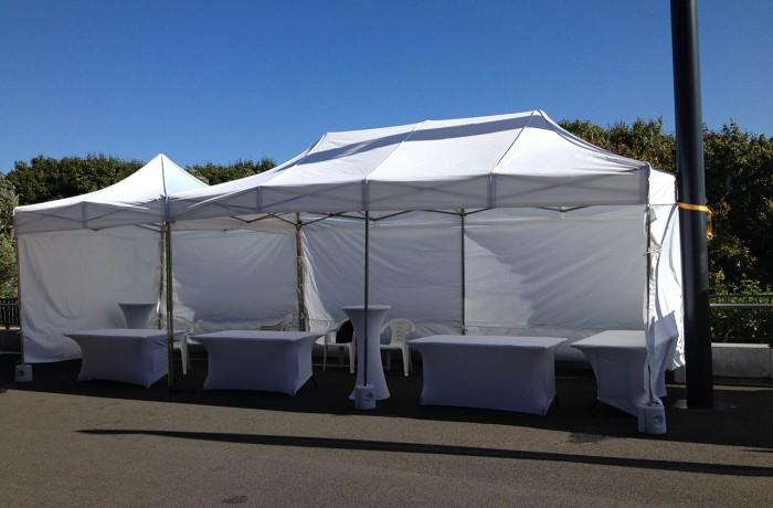 Namioty wystawowe, promocyjne