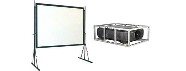Projektory i ekrany projekcyjne
