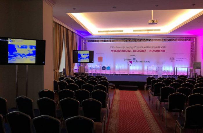 Oświetlenie konferencji